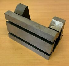 Shop Soiled 4 X 4 X 6 Tee Slotted Vee Angle Plate Milling Engineering Tools