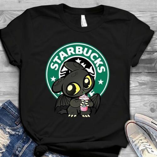 Krokmou Boissons Starbucks Coffee Homme T-shirt noir S-6XL