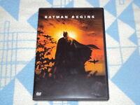 Batman Begins (2006)  DVD Christian Bale