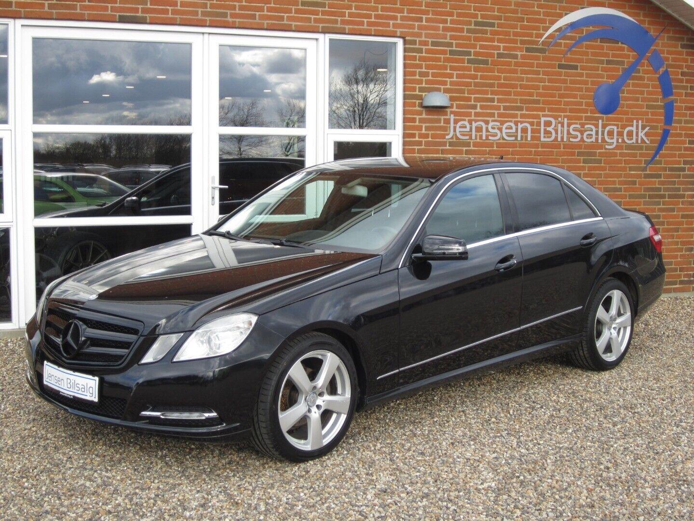 Mercedes E220 2,2 CDi Elegance aut. BE 4d - 80.000 kr.