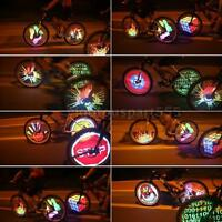 128 Rgb Leds Spoke Light Color Changing Programmable Bike Wheel Light R0fn