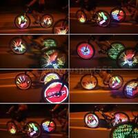 128 Rgb Leds Spoke Light Color Changing Programmable Bike Wheel Light R0fn