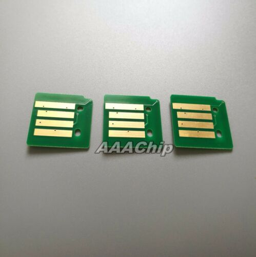 3 x Color Toner Chips For Xero Phaser 7800 series  106R01570 106R01571 106R01572