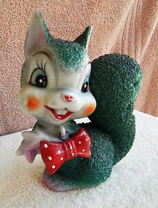 Vintage 1950's Arnart Squirrel Made In Japan