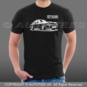 Autotees T Shirt For Retro Triumph Gt6 Mk3 Classic Car Enthusiasts Ebay