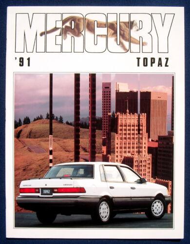 PROSPEKT BROCHURE 1991 Mercury TOPAZ USA