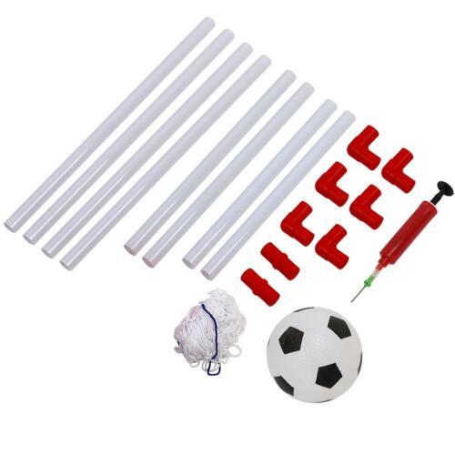 Ball Indoor Games Kits 106//120cm Children Football Soccer Goal Post Net Set