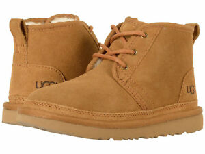 8548450c238 Details about Kids UGG Neumel II Lace Up Boot 1017320K Chestnut Suede 100%  Original Brand New
