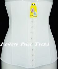 Bustier waist Cincher Body Tummy Girdle Corset Shaper WHITE 569