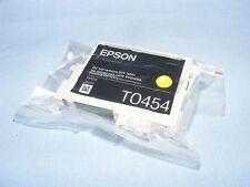 Genuine EPSON T0454 454 amarillo cartucho de tinta en paquete sellado al vacío
