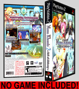 Details about Mana Khemia 2: Fall of Alchemy - PS2 Reproduction Art DVD  Case No Game