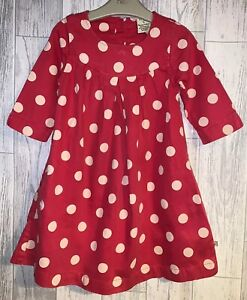 Girls-Age-4-5-Years-Frugi-Long-Sleeved-Dress