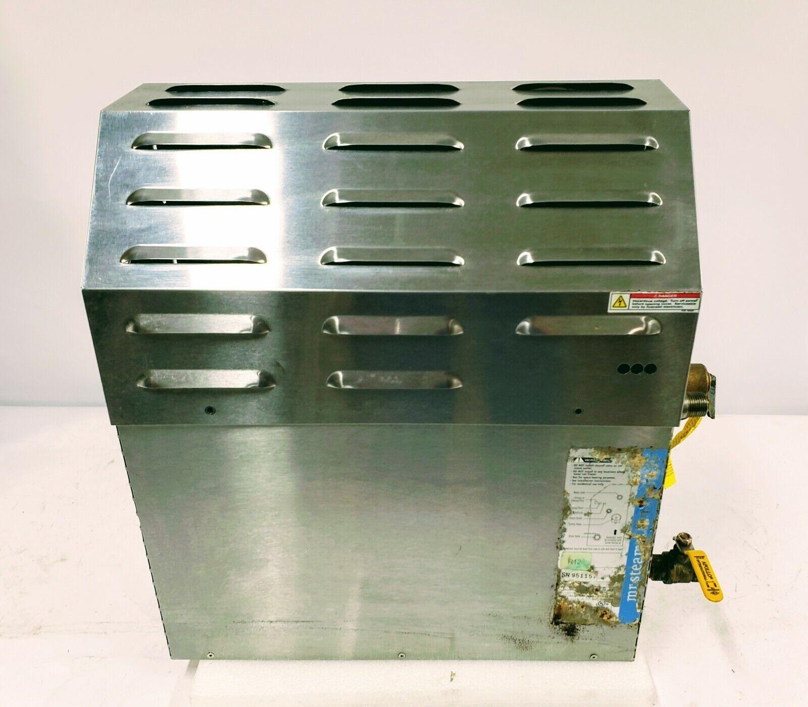 MrSteam Steam@Home SAH6000 6kw Steam Bath Generator Package for 111-150 cu.ft.