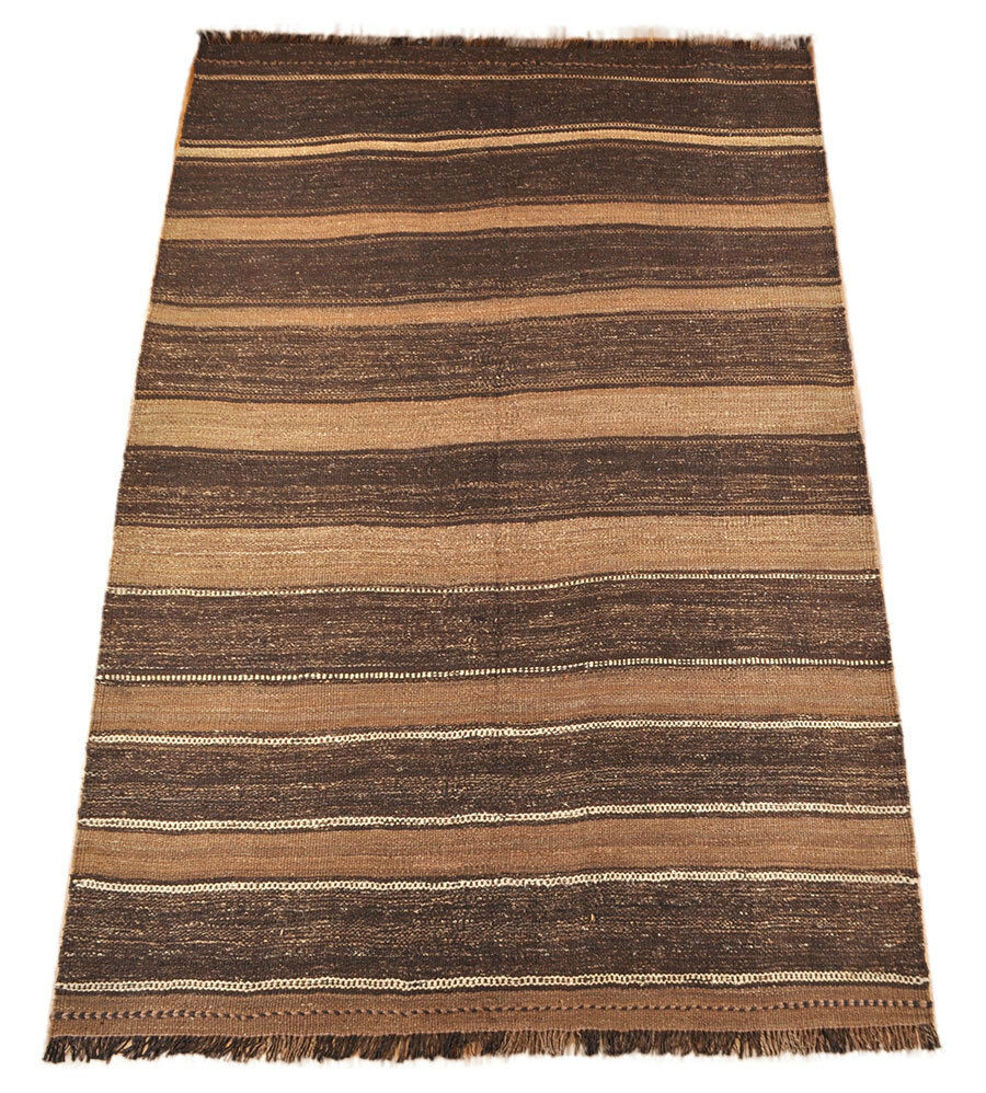 Kilim alfil Khorasan 245 x 162 cm persicher nómadas alfombra Kilim tribal Rug