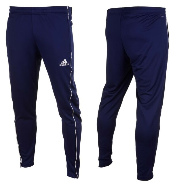 14dffa122 adidas Core 18 Track Pants Kids Dark Blue White 128. About this product.  Picture 1 of 21; Picture 2 of 21; Picture 3 of 21; Picture 4 of 21. 18.  Picture 13 ...