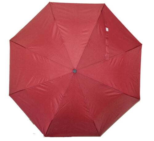 Fully Automatic Windproof Umbrella 3 fold Opens /& Close Push Button Soft Grip