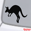 KANGAROO Vinyl Decal Sticker Car Window Wall Bumper Australia Marsupial Animal