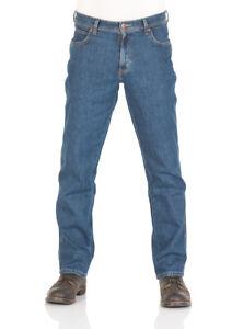 Wrangler Herren Jeans Durable - Regular Fit - Darkstone und Black