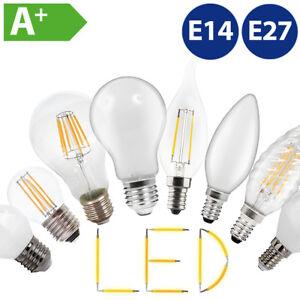 Filament-Retro-LED-Birne-Kerze-Kugellampe-E14-E27-2W-4W-6W-8W-10W-LED-Gluehbirne