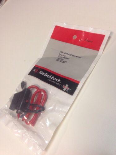 30A•12//24VDC•Mini Blade In-line Fuse Holder #270-0015 By Radioshack