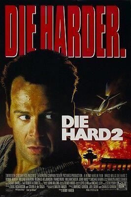 DIE HARD 2 movie poster  : 11 x 17 inches BRUCE WILLIS poster, DIE HARD poster
