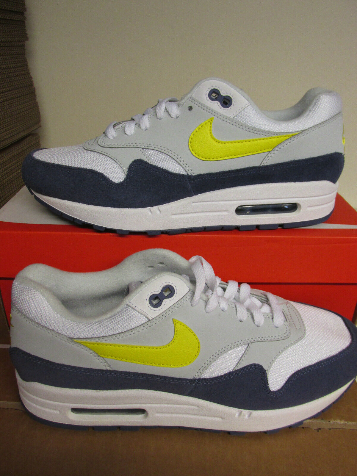 Nike Air Max 1 Baskets hommes Ah8145 105 Baskets Enlèvehommest
