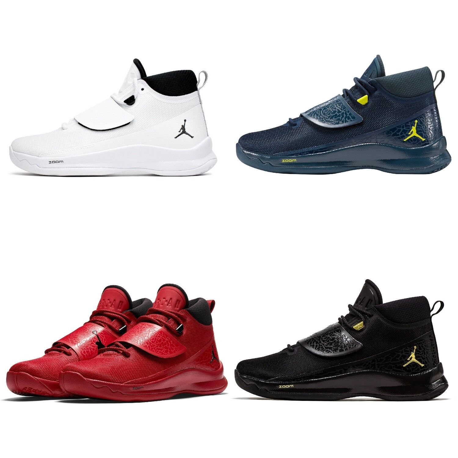 Nike Jordan Super Fly PO Basketball shoes Sports shoes Sneaker Leather Textile