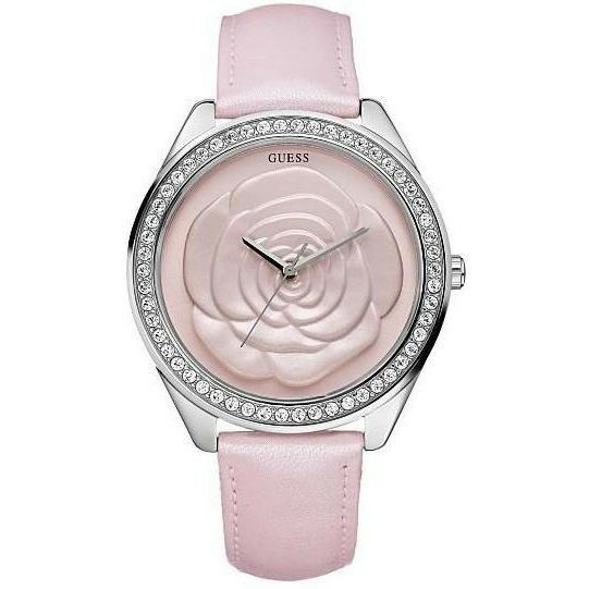 5ae7d100d198e Buy GUESS Rose Dial Pink Leather Ladies Watch U85111L2 online