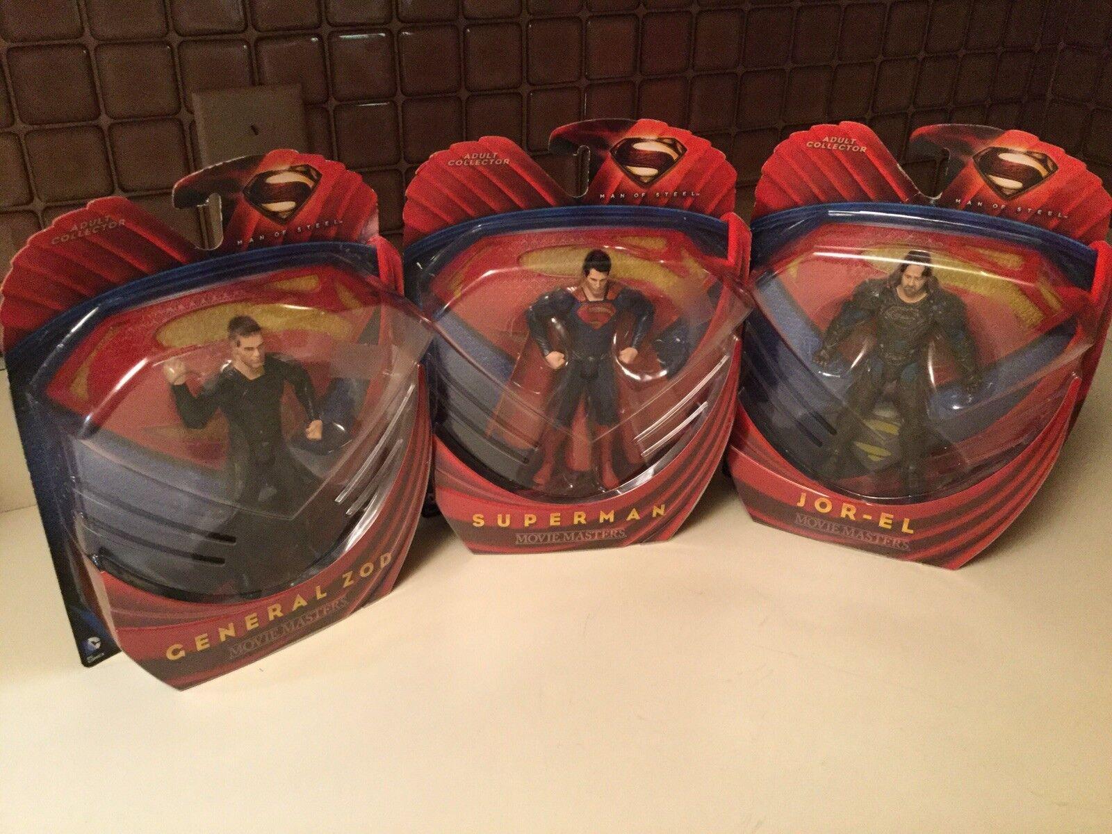 Superman - general zod  jor - el - film - mann stahl actionfiguren, reihe 3 mip