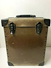 Excelsior File Box Plastic Metal Corners Handle Latching Tote Case Stamford Conn