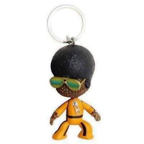 Sackboy-Afro 2 in Sony Ps Officiel-Little Big Planet environ 5.08 cm Porte-clés zip pull