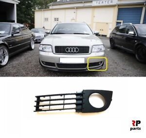FOR-AUDI-A6-C5-2001-2005-FRONT-BUMPER-FOGLIGHT-GRILLE-LEFT-N-S-4B0807681AA