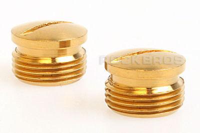 ROCKBROS Titanium Ti Crank Brothers Egg Beater Pedal Spindle End Cap Gold 1pair