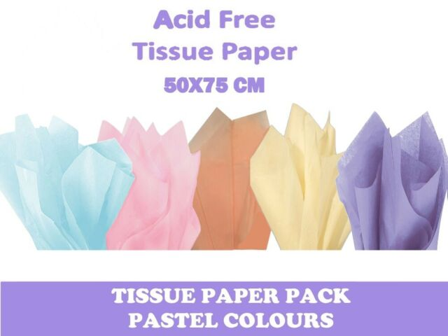 "GIRLS MIX OF COLOURS Tissue Paper Sheets 50cm x 75cm 18gsm  20/"" x 30/"" Acid Free"