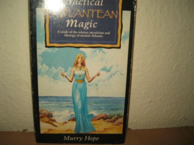 Practical Atlantean Magic, Hope, Murry, PAPERBACK ACCEPTABLE AQUARIAN 1991