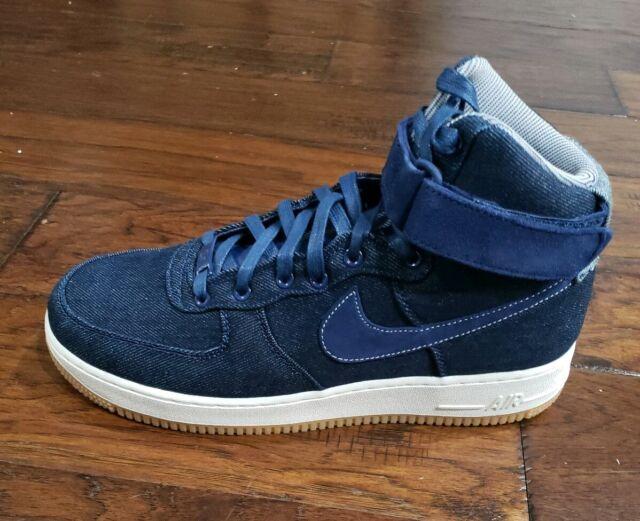 Nike Air Force 1 High Denim Gum 860544 400 |