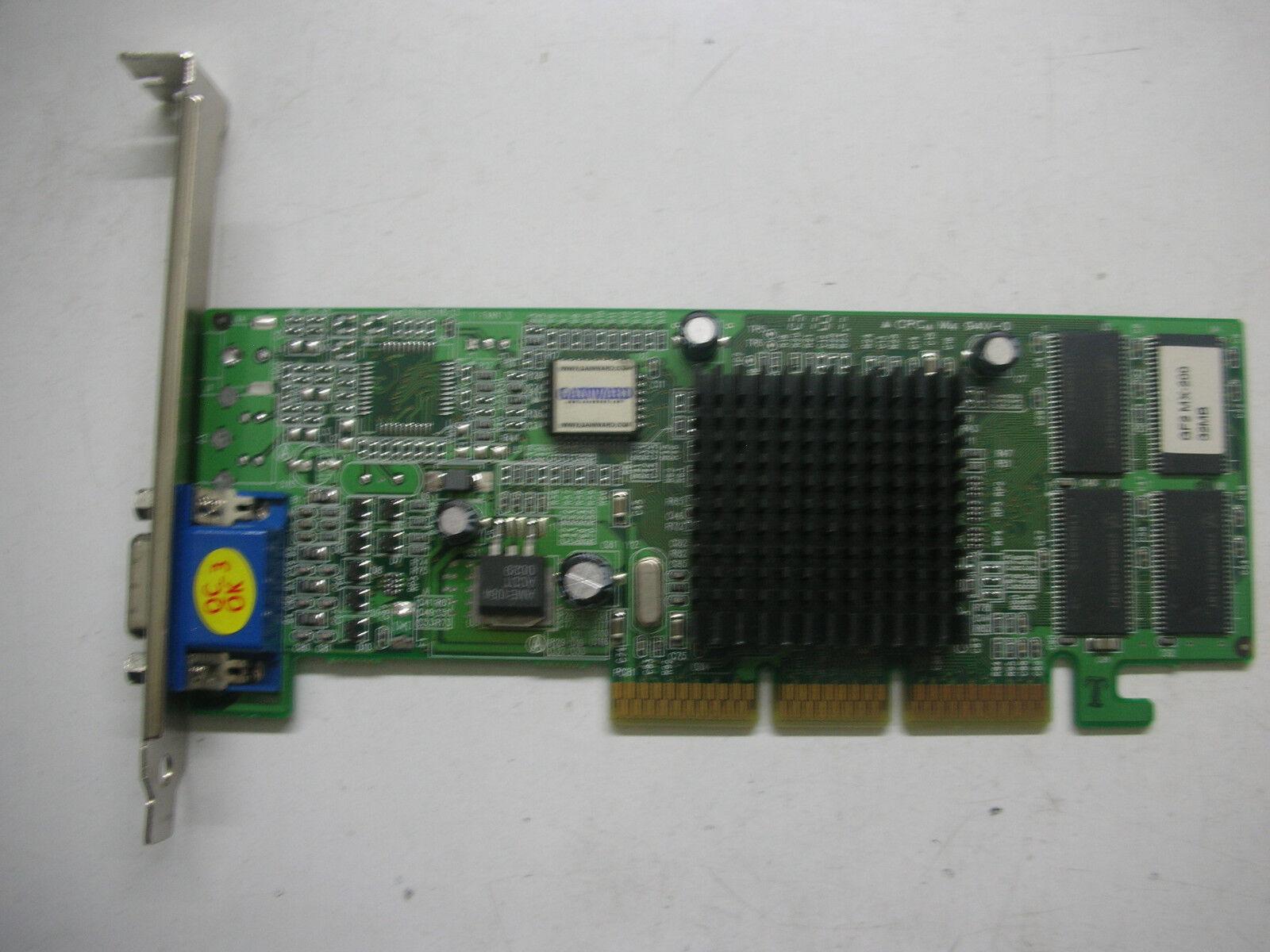 Gainward Nvidia Geforce MX200 32mb AGP