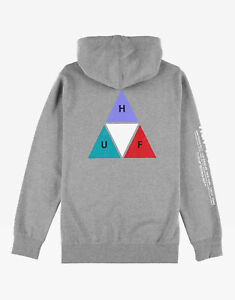 HUF-PRISM-TRIPLE-TRIANGLE-PULLOVER-HOODIE-GREY-HEATHER