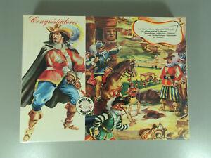 METALL-Diorama-034-Musketiere-034-aus-dem-Handel-sehr-schoen