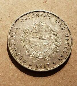 URUGUAY 1917 50 CENTESIMOS