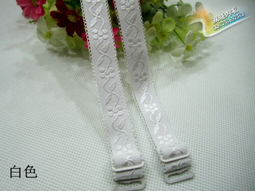 Women Shoulder Print Floral Elastic For Underwear  Straps Bra Lingerie