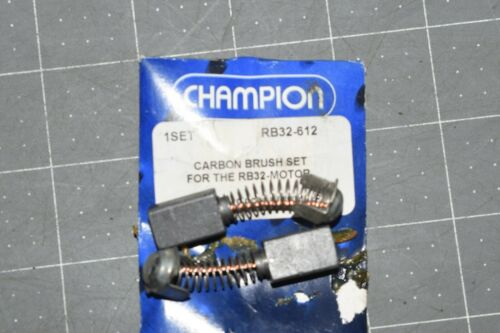 NEW Carbon Brush Set RB32-612 for Champion RB32 RotoBrute Magnetic Drill Press
