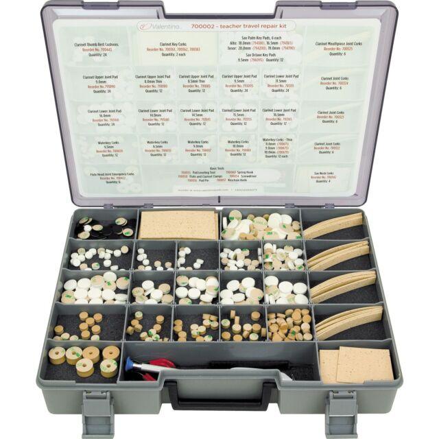 Music Teachers Travel Repair Kit Valentino over 400 pcs *NEW - SAVE $180 or more