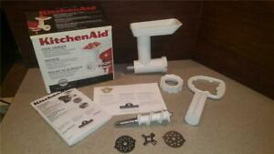 KITCHENAID-FGA-Stand-Mixer-Food-Meat-Grinder-Chopper-Attachment-USED-1x-NO-crack