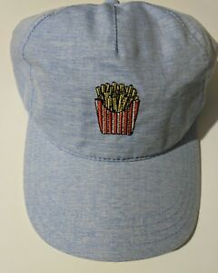 Image is loading No-Boundries-Lightweight-French-Fries-baseball-cap-blue 170135f0ba1d