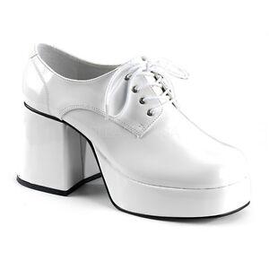 Mens White Platform Shoes Size