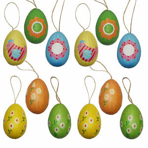 Easter Decorated Eggs Arts And Crafts 12 Pk Paper Wrapped Eggs