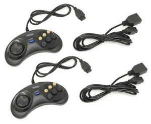 SEGA-Genesis-Wired-Controller-Extension-Cable-Cord-6-Button
