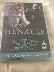BBC-SHAKESPEARE-HENRY-IV-PART-2-QUAYLE-NEW-amp-SEALED