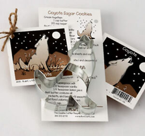 COYOTE COOKIE CUTTER~~ BY ANN CLARK
